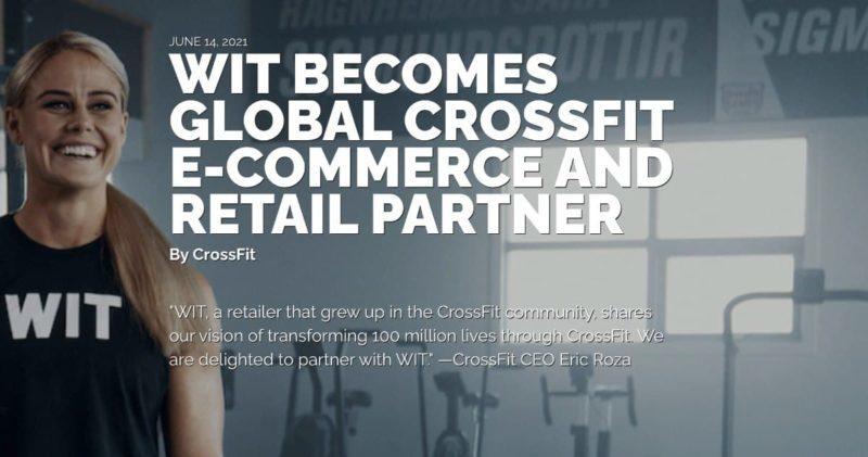 WIT Fitness станет спонсором CrossFit Games
